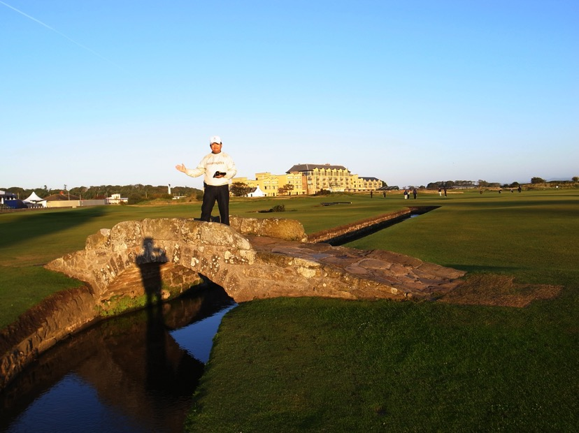 ゴルフの聖地 St.Andrewsです(^^) また行きたい!